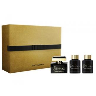 The One Desire Eau de Parfum 50ml + Shower Gel 100ml + Body Lotion 100ml