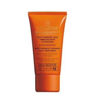 Trattamento viso abbronzante antirughe spf15 - Water resistant 50ml
