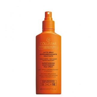 Latte spray superabbronzante idratante spf10 viso e corpo - Water resistant 200ml