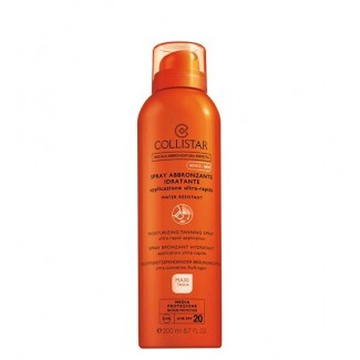 Spray abbronzante idratante spf20 - Viso e Corpo - Water resistant 200ml
